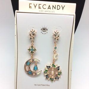 Eye Candy L.A. Celestial Post Earrings